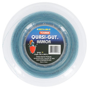 Quasi Gut Armor 16G Tennis String Reel Blue