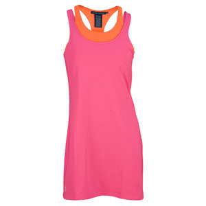 POLO RALPH LAUREN WOMENS ELITE WICK DB LAYR TNS DRESS A PK