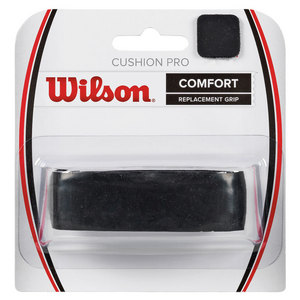 Cushion Pro Replacement Tennis Grip Black