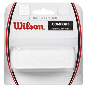 WILSON COMFORT HYBRID TENNIS RPLCMNT GRIP WHITE