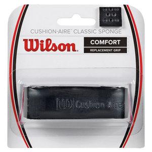 WILSON CUSHN AIRE CLASC SPONGE RPLCMENT GRIP BK