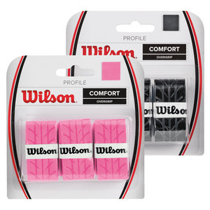 WILSON PROFILE TENNIS OVERGRIP 3 PACK