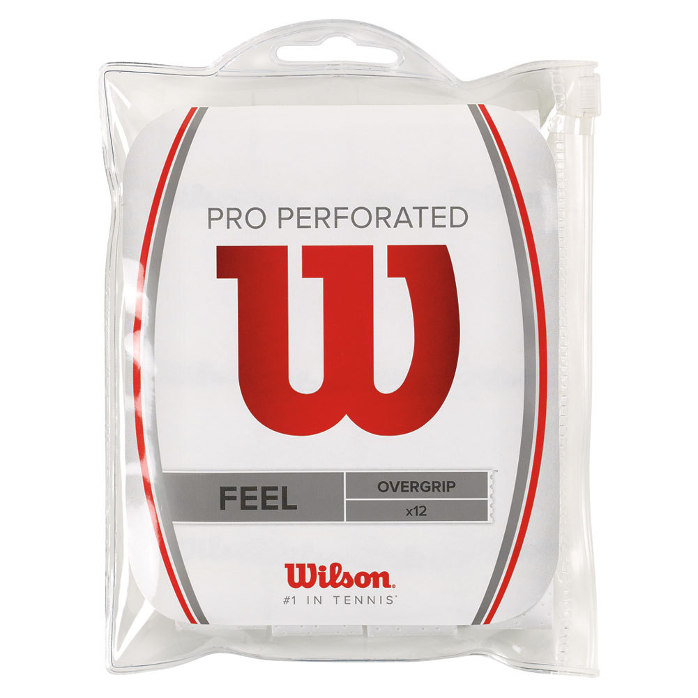Pro Overgrip Perforated 12 Pack White