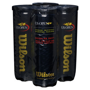 US Open Regular Duty 4 Pack Tennis Balls