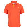 NEW BALANCE Men`s Baseline Tennis Polo Mock Orange