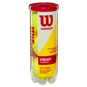 WILSON CHAMPIONSHIP EXTRA DUTY TENNIS BALL CAN