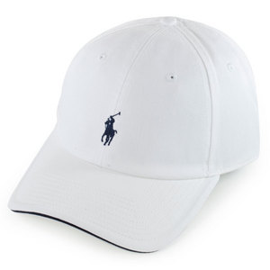 POLO RALPH LAUREN MENS FAIRWAY SPORT CAP WHITE