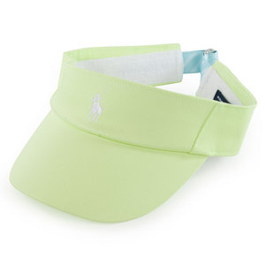 POLO RALPH LAUREN WOMENS REFLEX VISOR LEMON QUARTZ