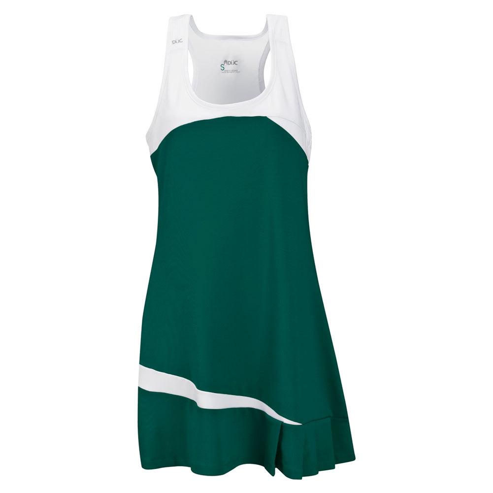 Women's Fire Tennis Dress Pine