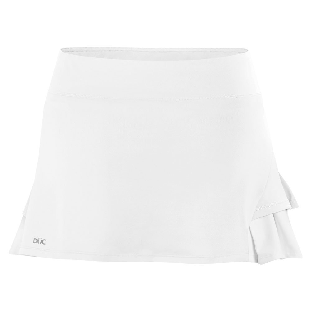 Women's Flirt Double Pleated Power Skirt White