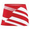 DUC Women`s Radar Printed Power Tennis Skirt Red and White
