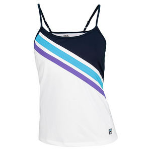 FILA WOMENS CENTER COURT TENNIS CAMI WH/PCOAT