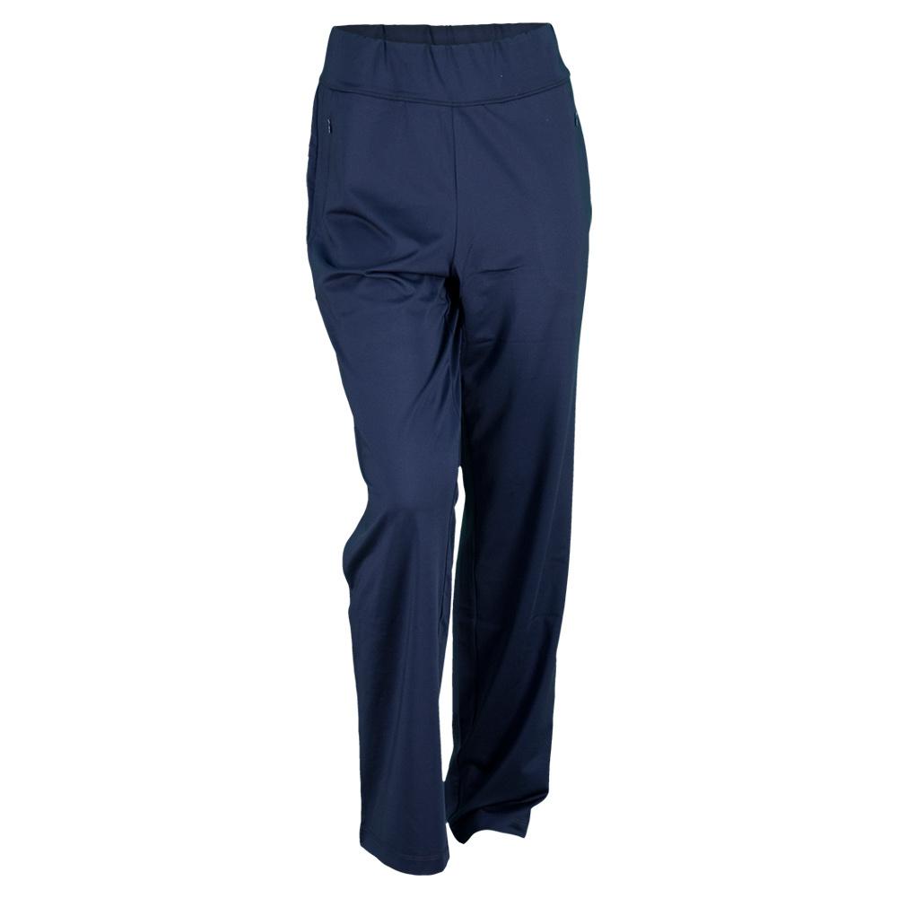 Women's Backhand Tennis Pant Navy Blue