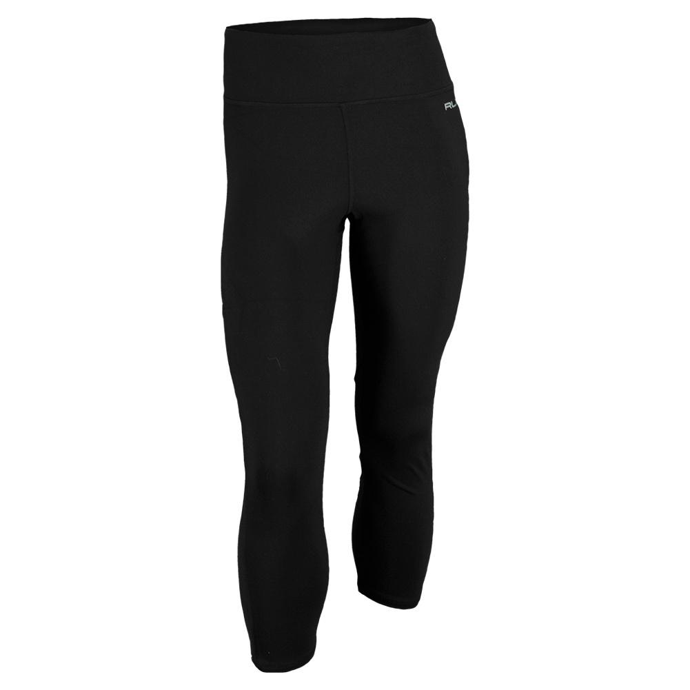 Women`s Supplex Cropped Tennis Legging Black