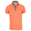 NIKE Men`s Baseline Tennis Polo Turf Orange