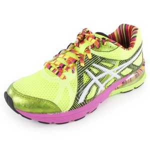 ASICS WOMENS GEL PRELEUS RUN SHOES FLSH YL/WH