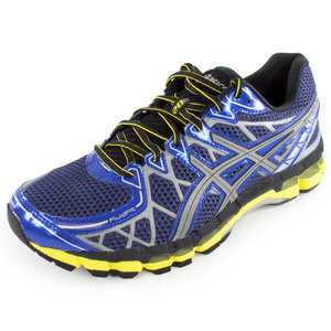 Men`s Gel Kayano 20 Lite Show Running Shoe Surf and Lite