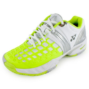 Women`s Power Cushion Pro Tennis Shoes White and Yellow