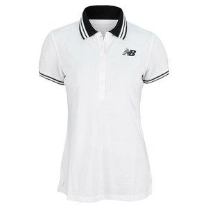Women`s Speed Tennis Polo White