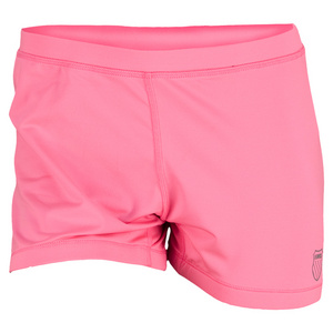 K-SWISS WOMENS SHORTIE TENNIS SHORT NEON RED