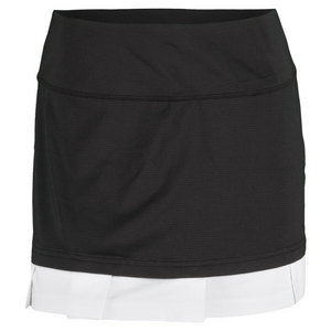 BOLLE WOMENS AFTER DARK 13.5 IN SKORT BLACK/WH