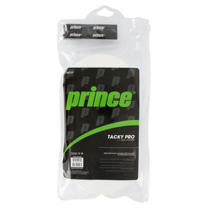 PRINCE TACKYPRO 30 PACK TENNIS OVERGIRP WHITE