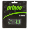 PRINCE O Damp 2 Pack Tennis Dampeners Black and Green