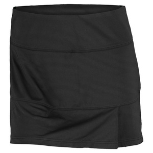 BOLLE WOMENS 13.5 IN TENNIS SKORT BLACK