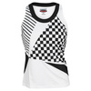BOLLE Women`s After Dark Tennis Tank White and Black