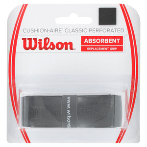 WILSON CUSHION AIRE CLASSIC PERFORATED GRIP BK