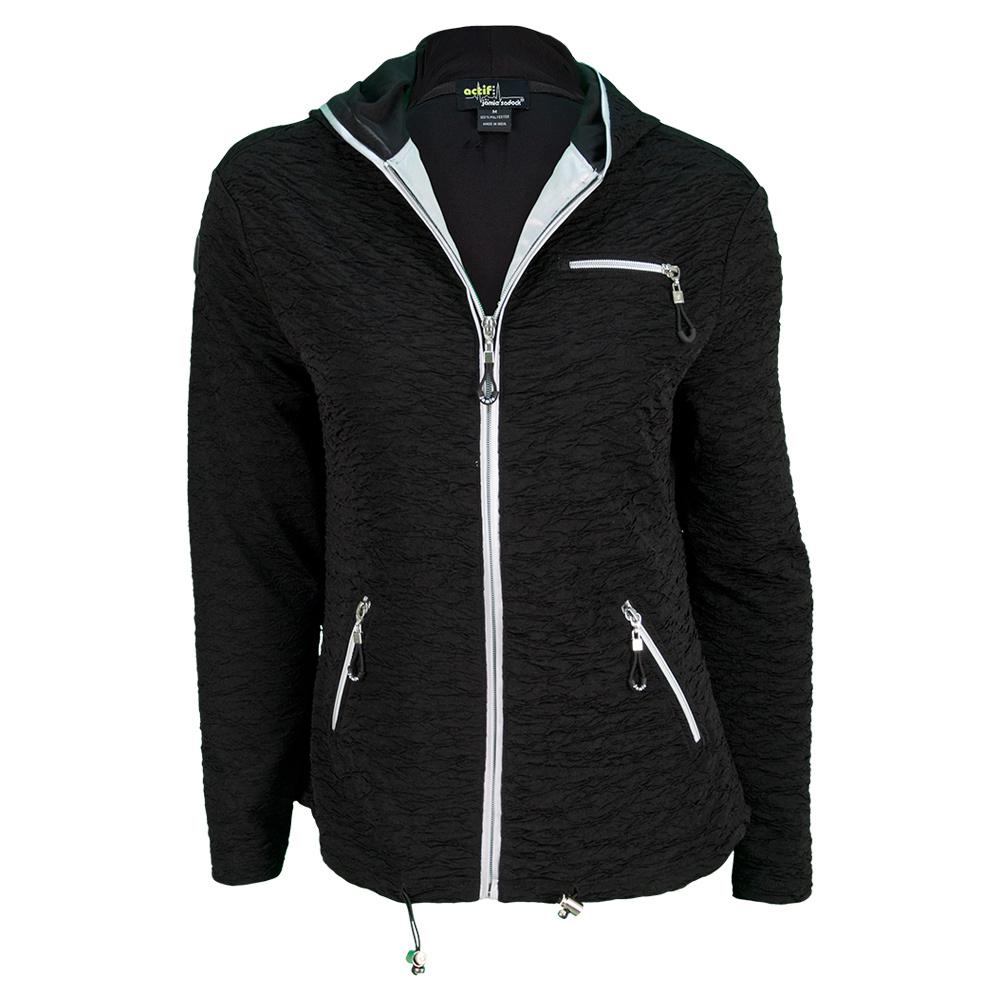 Women's Tennis Jacket Jet