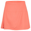 LUCKY IN LOVE Women`s Tummy Control Tennis Skirt Orange