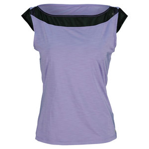 ELEVEN WOMENS POACHING TENNIS TOP LILAC