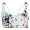 ELEVEN Women`s Reversible Tennis Bra Fiore Print and White