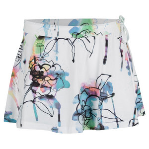 ELEVEN WOMENS BALL GIRL TENNIS SKORT FIORE PRNT
