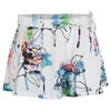 Women`s Ball Girl Tennis Skort Fiore Print by ELEVEN