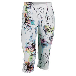 ELEVEN WOMENS POWER TENNIS CAPRI FIORE PRINT