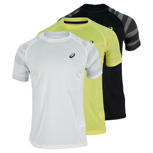 ASICS MENS COURT GRAPHIC TENNIS TOP