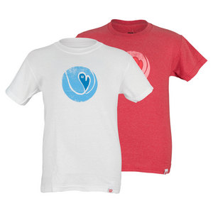 WILSON GIRLS HEART BALL TENNIS TEE