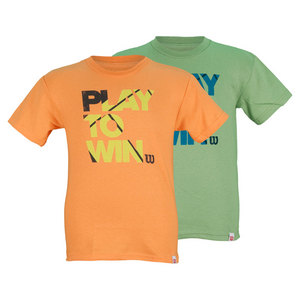 WILSON BOYS PLAY TO WIN TENNIS TEE