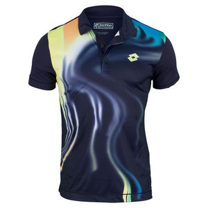 LOTTO MENS BLEND TENNIS POLO MULBERRY