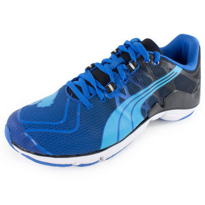 PUMA MENS MOBIUM ELITE V2 RUN SHOE VIB YL/RD