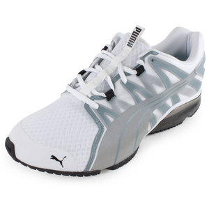 Men`s PowerTech Voltaic Running Shoes White and Tradewinds