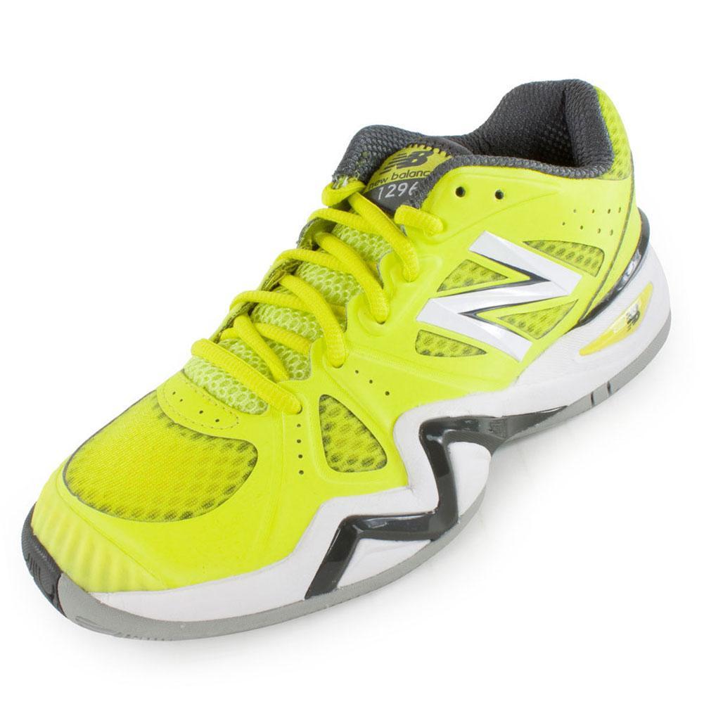 Women's 1296 B Width Tennis Shoes Yellow