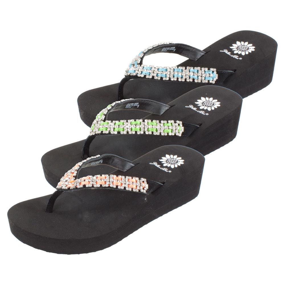 Yellowbox Cecile Black Sandals