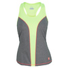 Women`s Baseline Racerback Tennis Tank Heather Gray by FILA