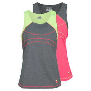 FILA WOMENS BASELINE FULL COVERG TENNIS TANK