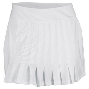 FILA WOMENS LAWN TENNIS SKORT WHITE