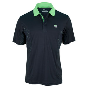 FILA MENS COLLEZIONE TENNIS POLO BLUE NIGHT