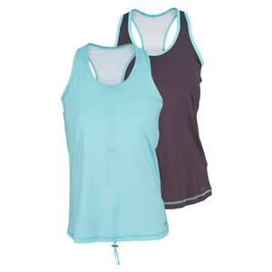 SOFIBELLA WOMENS ATHLETIC TENNIS TANK